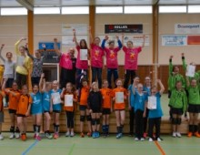 Faszination Volleyball in der Riedhalle