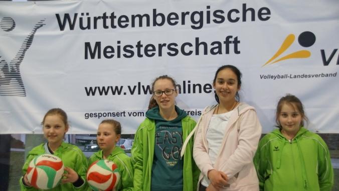 Die U12 bei den Württembergischen Meisterschaften in Holzgerlingen